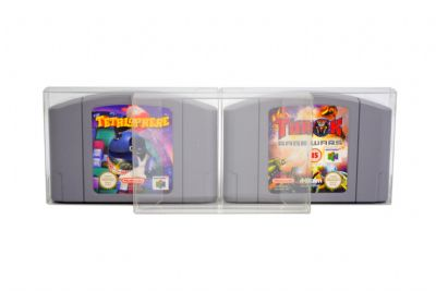 GP4 N64 Cartridge Game Box Protectors
